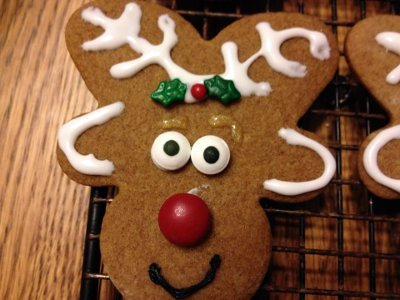 Gingerbread Reindeer Cookingskewl Com